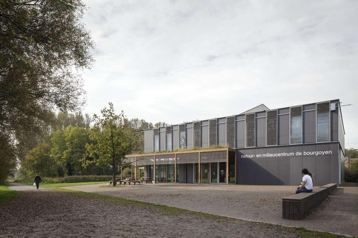 bezoekerscentrum de bourgoyen mariakerke <span>2008, gent, natuurcentrum, ossemeersen</span>